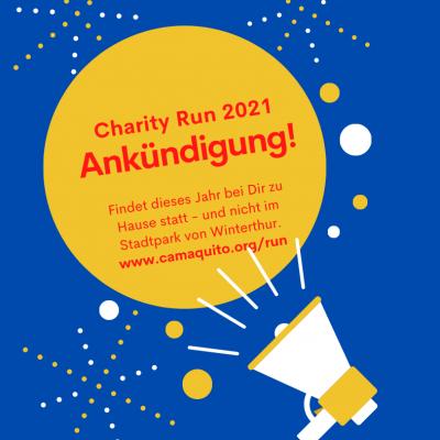 Ankündigung Charity Run 2021 Facebook